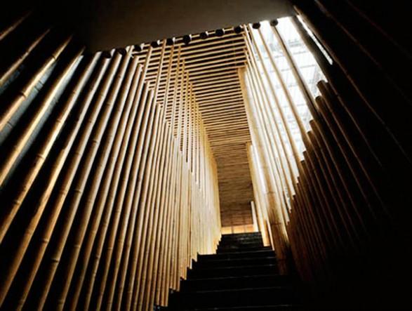 Kengo kuma stairs