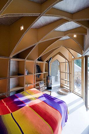 Underground house bedroom 6