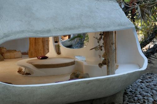 Organic house exterior