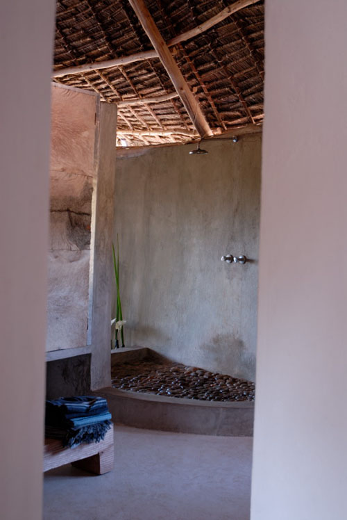 Organic house shower